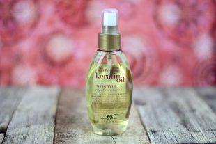 Review OGX anti-breakage keratin Oil Shampoo Conditioner Oil