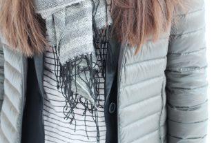 Outfit mit Daunenjacke kombinieren für kalte Wintertage - mit meiner kuscheligen, dunkelgrünen Daunenjacke von No 1 Como und Cashmere Beanie