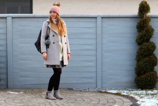 Back to the roots: Oversize Pullover Winteroutfit mit Glitzersocken