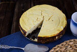 Eiweiß Käsekuchen Rezept mit Magerquark und Whey