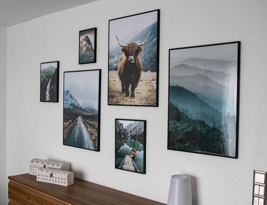Living - Poster Bildergalerie fürs Schlafzimmer