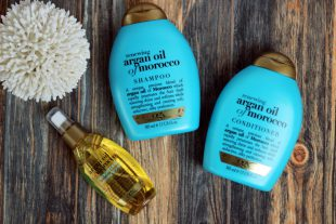 Review Renewing Argan Oil of Morocco Shampoo Conditioner Oil